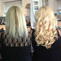 AFFORDABLE HOT FUSION & TAPE IN HAIR EXTENSIONS $250