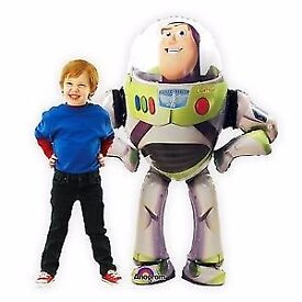 "53"" Toy Story Buzz Lightyear Airwalker Foil Balloon Surprise Party Decoration"