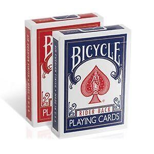 NEW/WOODEN PLAYING CARD CASE w/ 2 DECKS OF CARDS