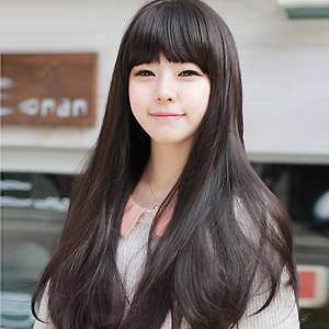 fashion lady's long hair wig straight hair style Wheelers Hill Monash Area Preview