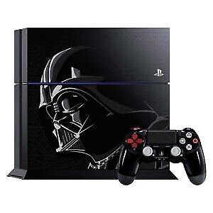 Sony PS 4 Star Wars Edition, 2TB, 2 Controllers, Camera