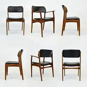 Save the Tax on all Mid Century Teak and Rosewood Dining Chairs