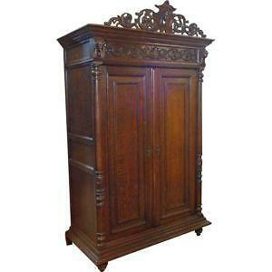 Antique Armoire Ebay
