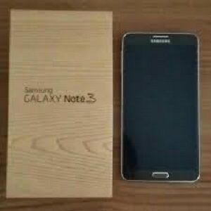 Black 32 gb Samsung Galaxy Note 3 like new, unlocked