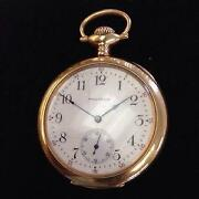 Mens 14k Gold Pocket Watch