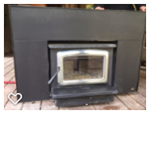 Wood Fireplace Insert from  Pacific Energy