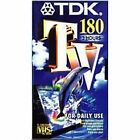 TDK Blank VHS Video Tape