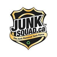 Junk Squad™ now hiring driver/labourer for Vancouver location