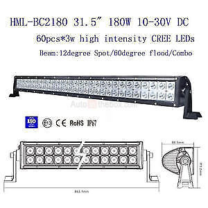 "SALE!! 31"" LED light bar kit with one year warranty!"