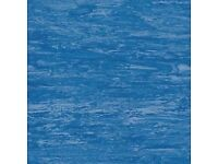 Hardwearing 2mm Vinyl Sheet Tanzanite Blue 2mx20m