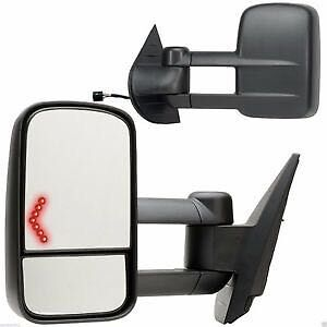 Dodge Ram/Ford F model/Chevy/GMC towing mirrors in pairs