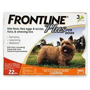 Frontline Plus for Dogs 0-22 lbs 3 Month
