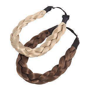 braided hair headband blonde ebay