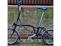 New con Brompton M TYPE folding Bike
