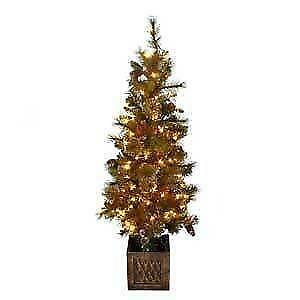 outdoor pre lit christmas tree - Outdoor Christmas Trees