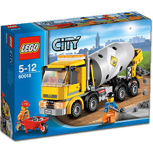 LEGO CITY 60018 - Cement Mixer BRAND NEW RETIRED