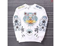 Kenzo eye sweater White