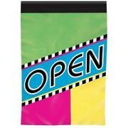 Open Flag Vertical