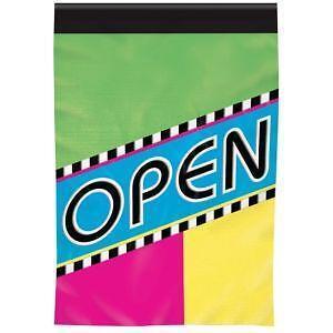 Open Flag Vertical Ebay