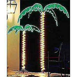4.5' & 7' PALM TREE WITH LED ROPE LIGHTS
