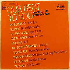 VARIOUS ARTIST Vinyl LP 1967 Byrds, Aretha, Moby Grape Tremeloes