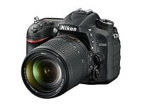 Nikon D7200 and accessories