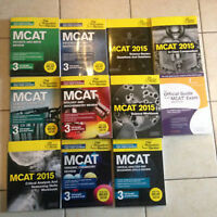 MCAT 2015 Books: Kaplan Princeton Examkrackers Berkley Package