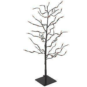 lighted halloween tree - Black Halloween Tree