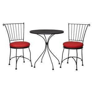 Threshold furthermore Wrought Iron Furniture likewise S Outdoor Wicker Chair as well Mole Terminator Trap additionally CobraCo Canterbury 21 Black Scroll Top Plant Stand 26602771. on wicker lawn furniture