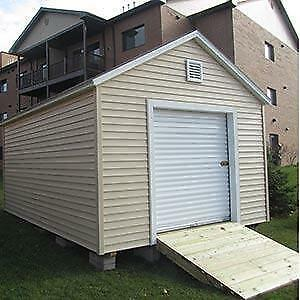 Brand new white 5' x 7' roll up door great for shed or garage!