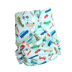 Super fashionable AMP Cloth Diaper Hemp Kit! Kitchener / Waterloo Kitchener Area image 4