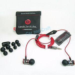 iBeats Headphones with ControlTalk From Monster - In-Ear Noise Isolation - Black (Discontinued by Manufacturer) - $ 60