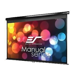 Elite Screens Manual, 106-inch 16:9, Pull Down Projection Manual