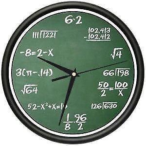 Math books ebay math clocks fandeluxe Choice Image