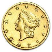 1849 Gold Coin