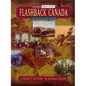 Flashback Canada History textbook Hardcover Like new