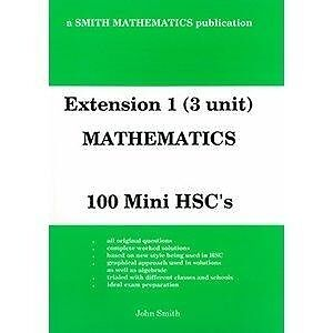 John Smith Maths Extension 1 100 mini HSC exams Carlingford The Hills District Preview