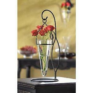 Glass Cone Vase Ebay