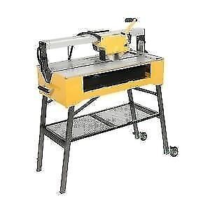 For rent tile saws 11/2 horse power 24 inch