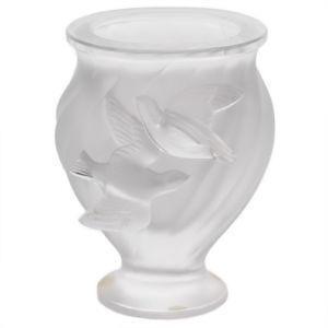 lalique dove vase - Lalique Vase