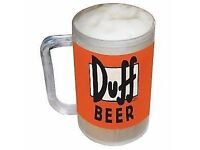 Simpsons Freezable Duff Beer Tankard Gift Keep The Drink Cold For Longer Period new