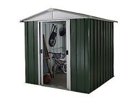 7 x 6 Waltons Metal Shed. New. Flatpack. PICK UP TODAY.