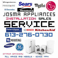 60$ JOSMA APPLIANCES SERVICE-SAME DAY