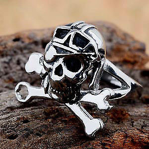 Mens Pirate ring, size 9