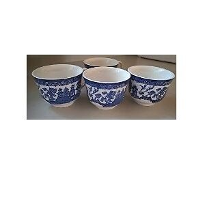 Blue Willow Tea Cups