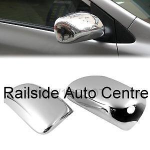 Toyota 2 Chrome Mirror Cover For Corolla , Matrix , Yaris ,Prius