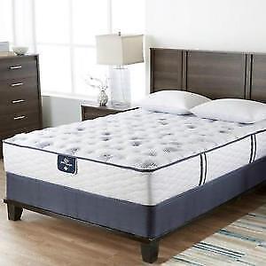 New Serta Perfect sleeper Aurora Heights IV queen mattress for s