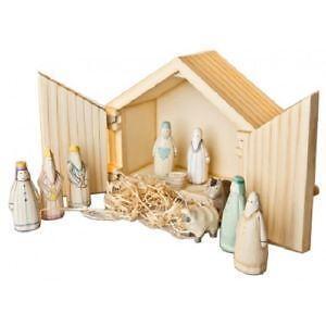 Wooden Nativity Le