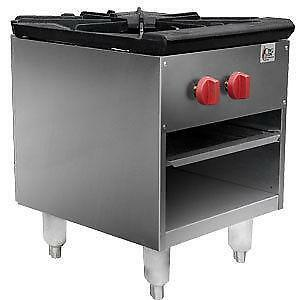 Gas stock pot range  - brand new - Price Reduced