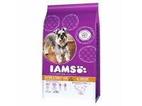 2 x IAMS SENIOUR Dog Biscuits 3KG